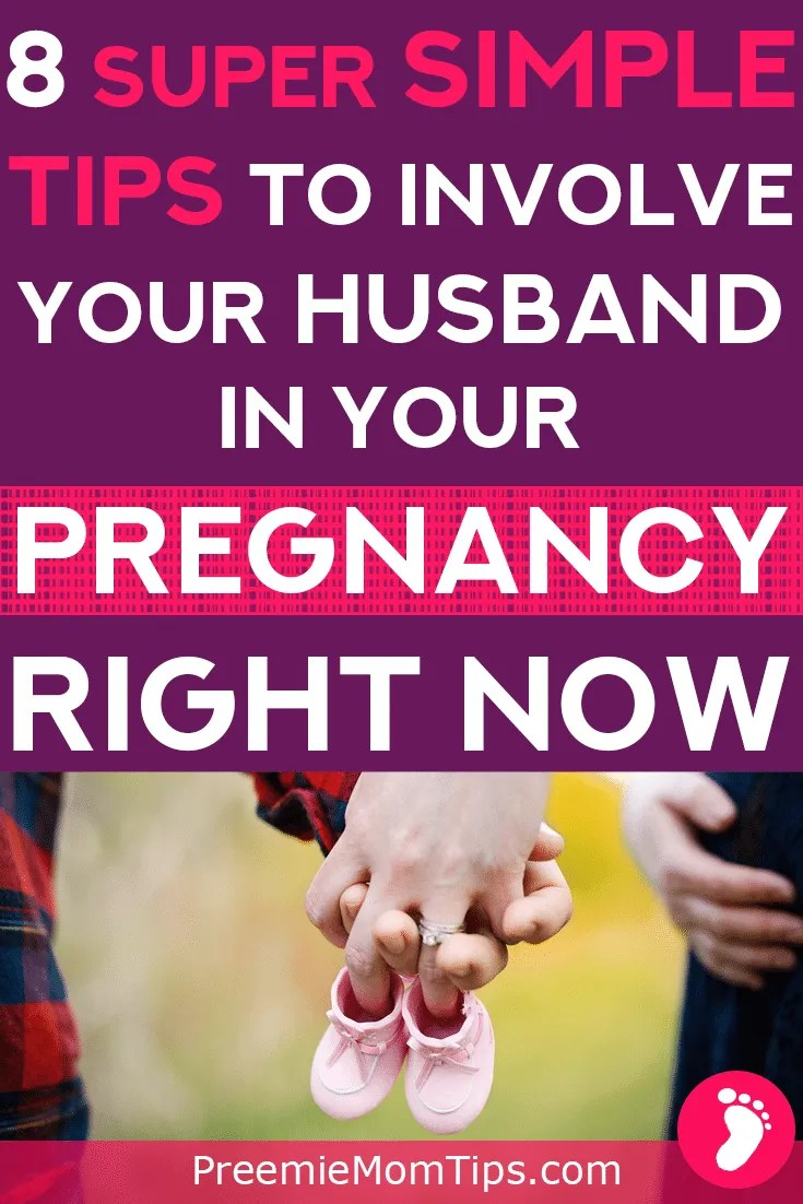 It's completely normal for moms to be more involved with their pregnancies than dads, after all, us moms have our babies growing inside. And that is a unique and wonderful feeling. Get your husband more involved with your pregnancy by following these easy tips!