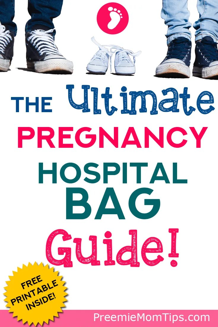 Don't forget these items for your pregnancy hospital bag! You, your husband, and your baby will have everything you need in that handy hospital bag!