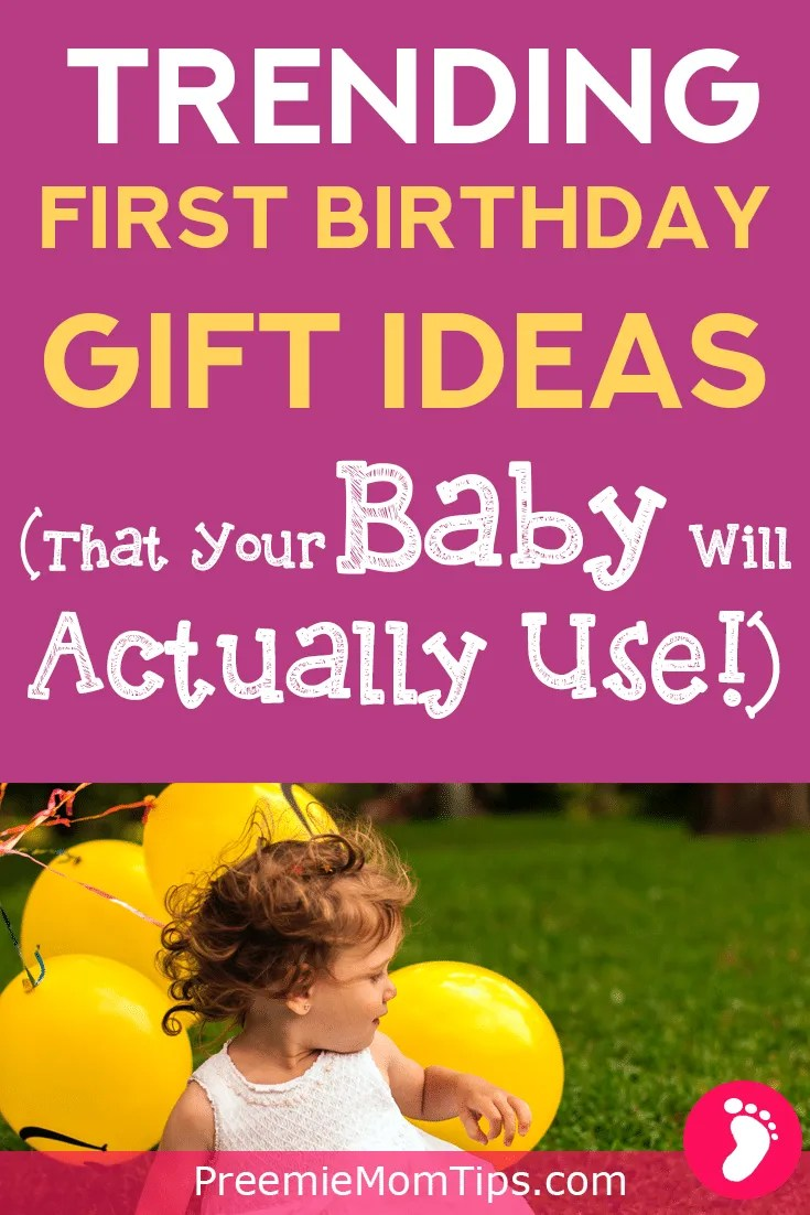 Don't know what to get your baby for the first birthday? Don't worry! Check out these amazing stimulating gifts that your baby will absolutely love (and use)