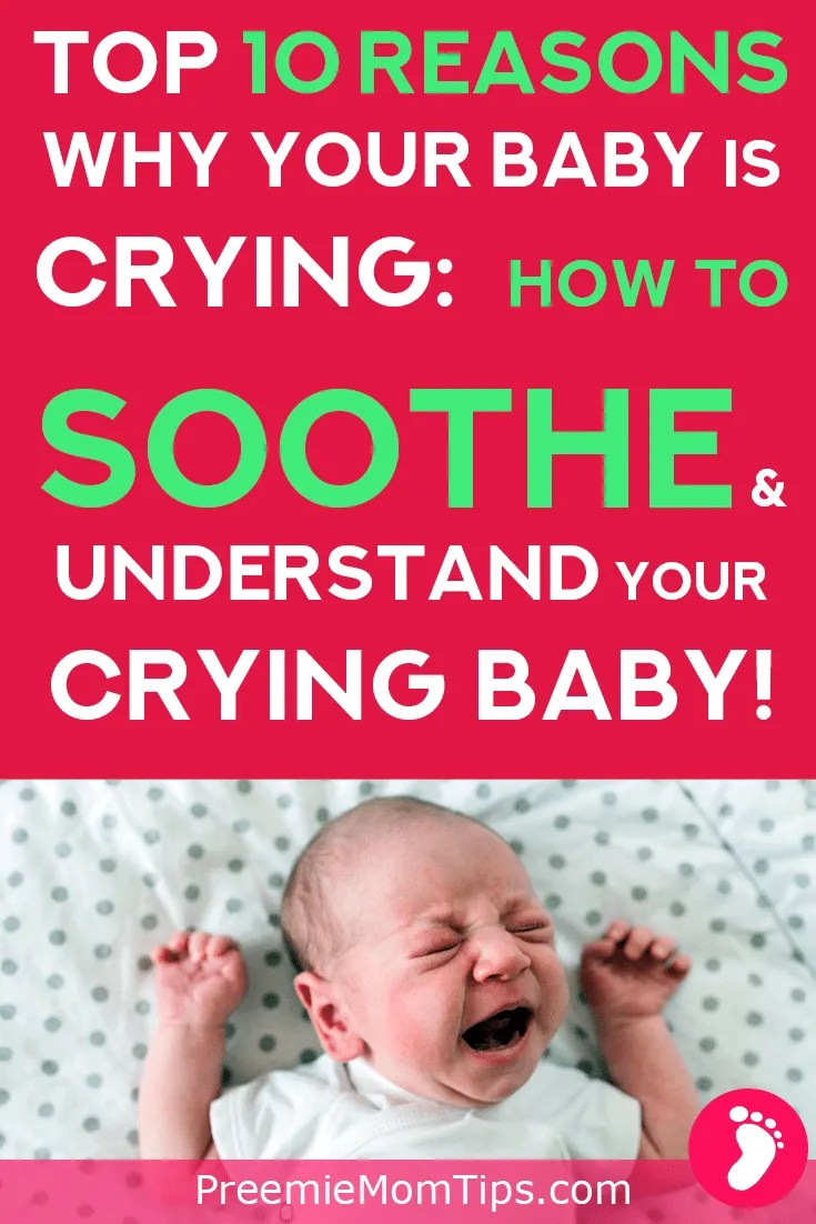 Why do babies cry? As new parents, we want to understand our baby's needs all the time! Having a newborn baby is challenging, find out how to soothe your crying baby every time by identifying your baby's cries! | Parenting | Parenting Tips | New Parent Advice | New Mom | Babies | Newborn Baby |