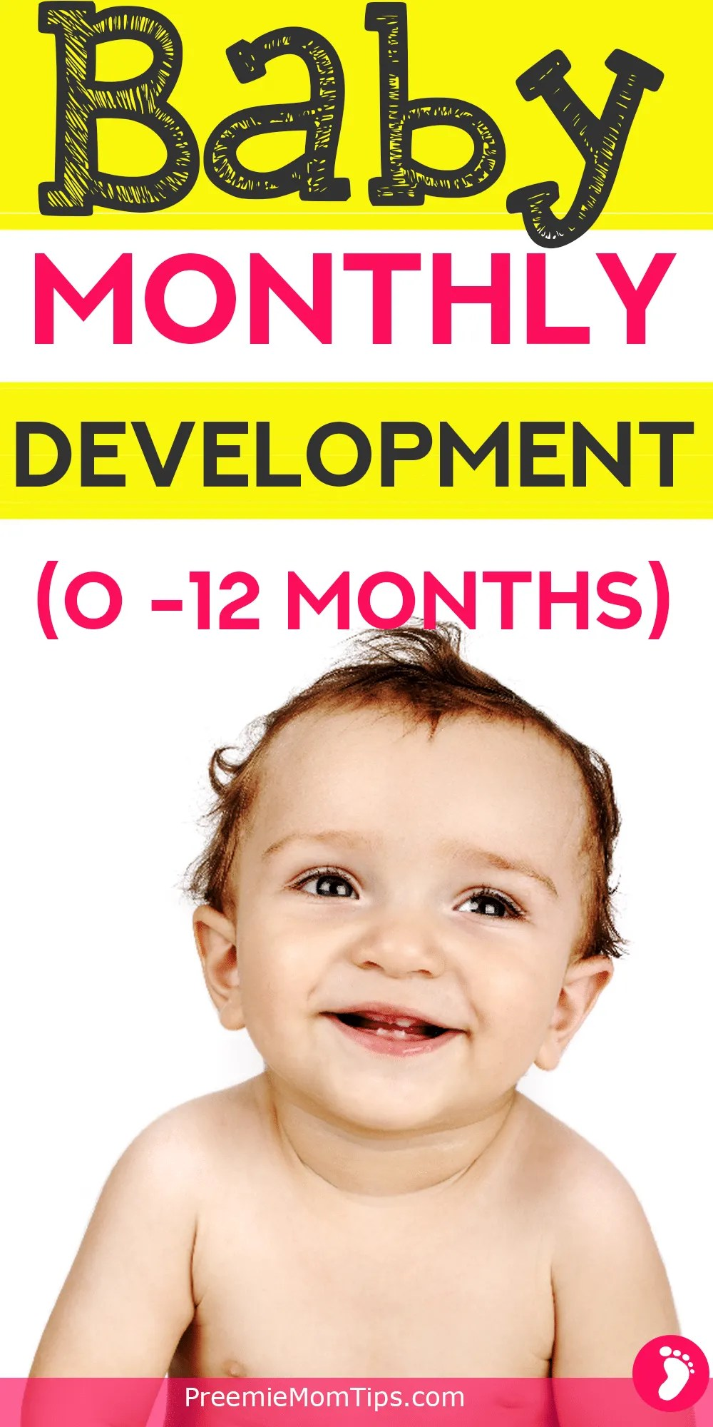 Should my new baby be doing more stuff? When to see a doctor? When should your baby talk, walk, eat, sleep, crawl? You'll find all the answers here!
