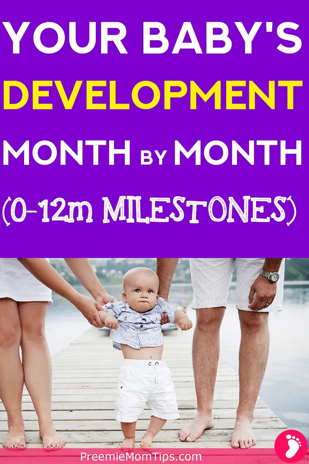 A month by month description of your baby's development and milestones! Especially made for new, caring parents! From newborns to your baby's first year. Click to find out more!