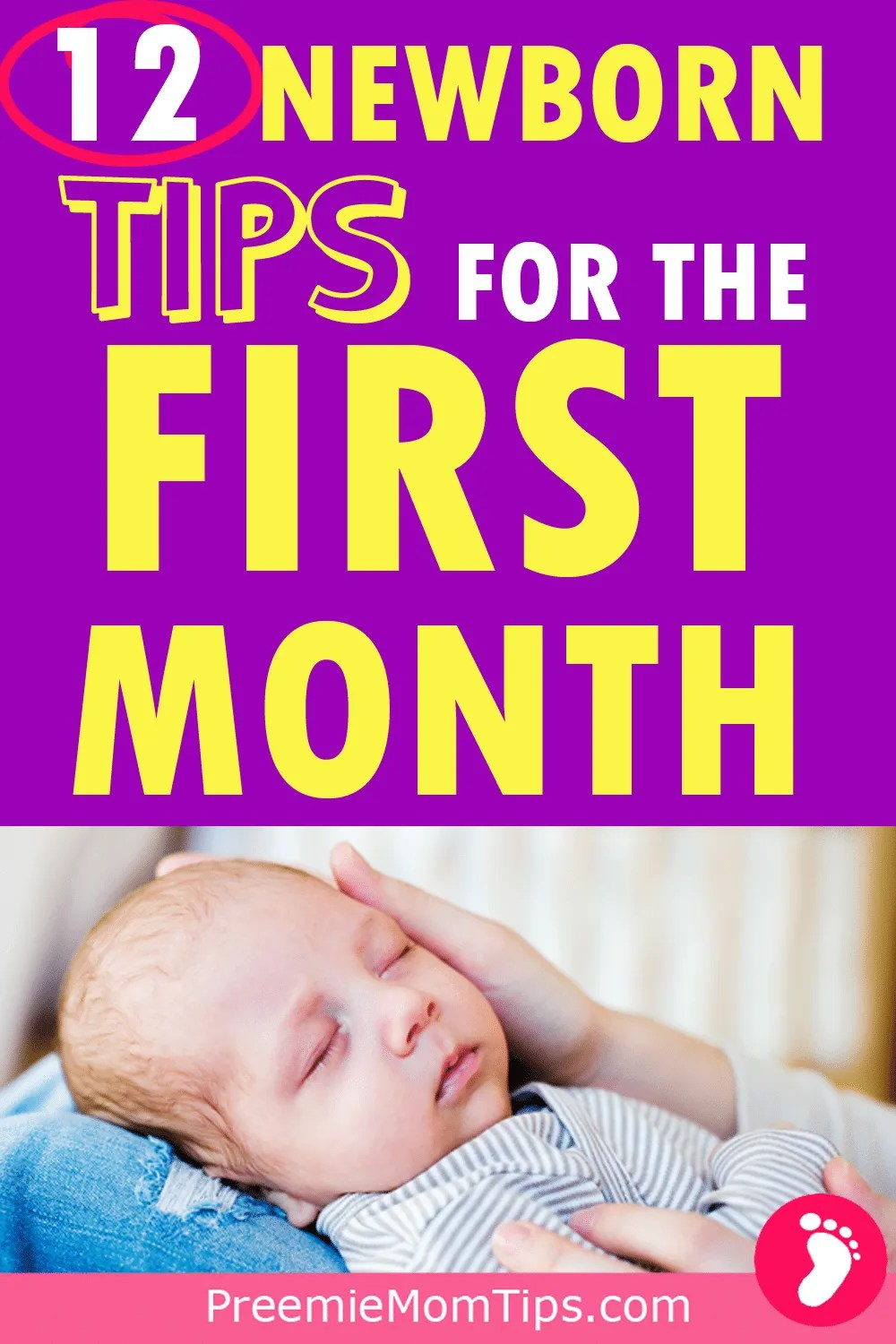 Here are 12 essential newborn baby tips for your first month home as a first time mom