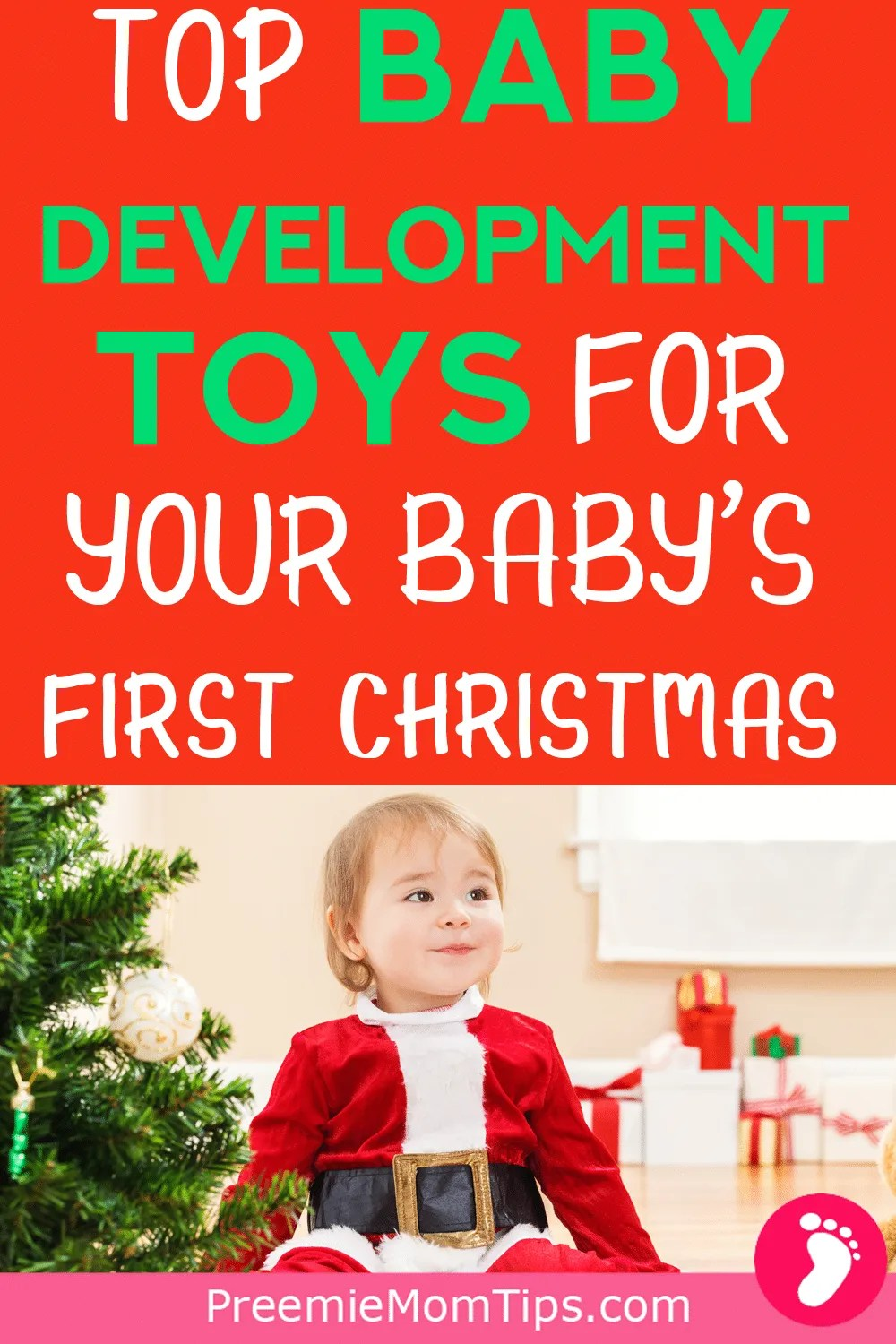 Check out these Holiday gift ideas for your baby's frist Christmas.