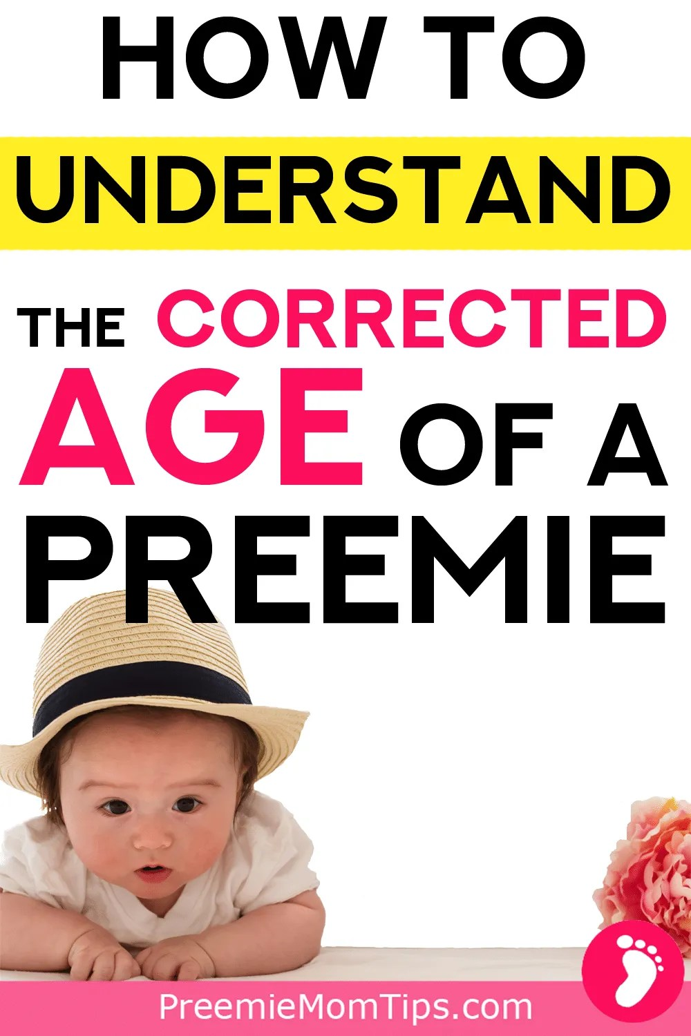 As new mom to premature babies, we have to learn to take care of our miracles! Check out all you need to know about your preemie's corrected age!