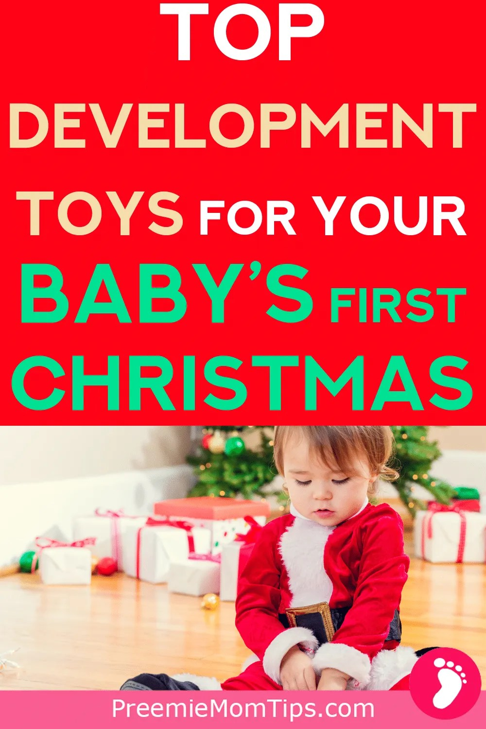 Looking for your baby's perfect Christmas gift? Check out these gift ideas that will help your baby's monthly development