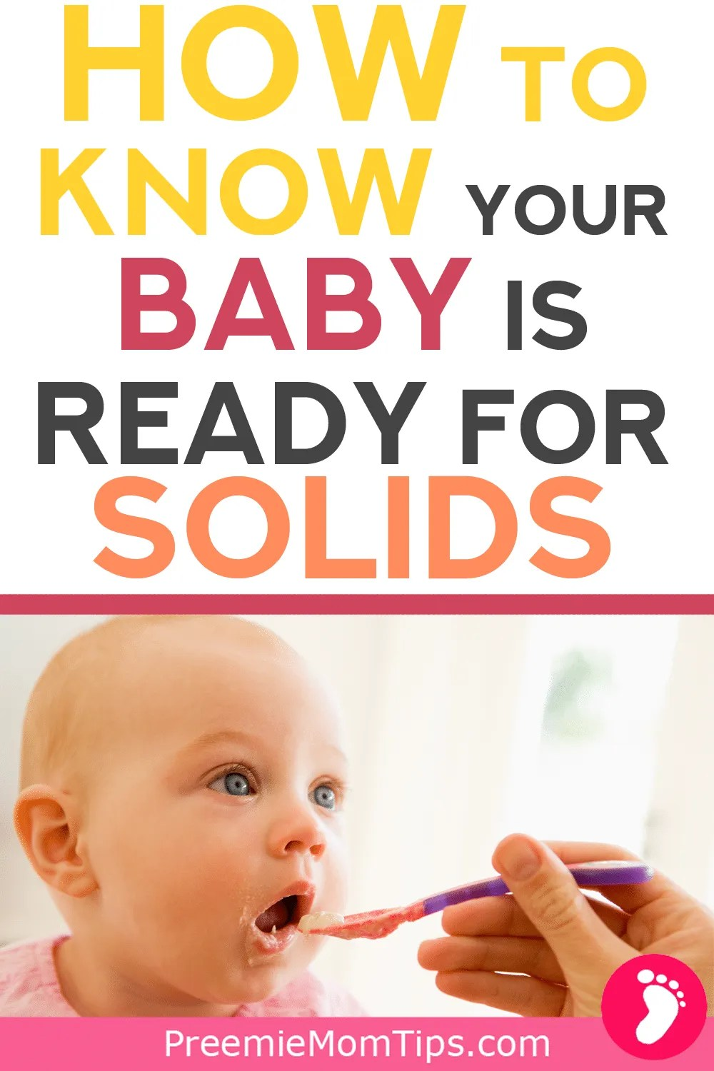 Starting baby on solids: How to know your baby is ready to start solids