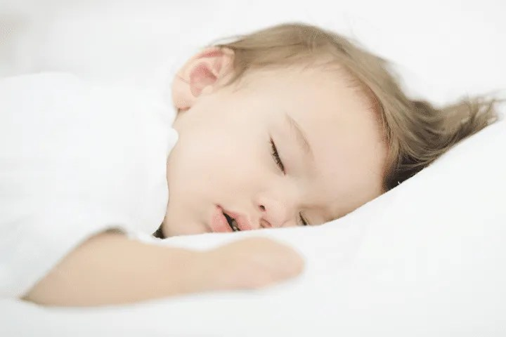 Signs that your toddler is ready for potty training: Awakening dry from naps
