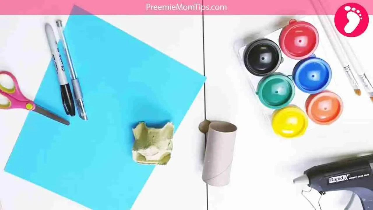 How to make a toilet paper roll craft house Materials