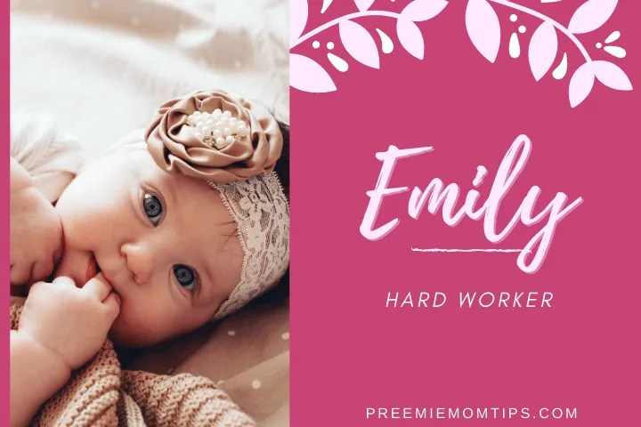 Emily is still in use as a baby name for girls.