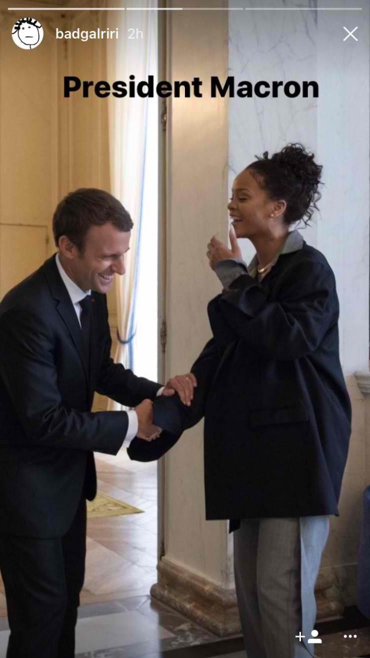 Rihanna_French_President_macron