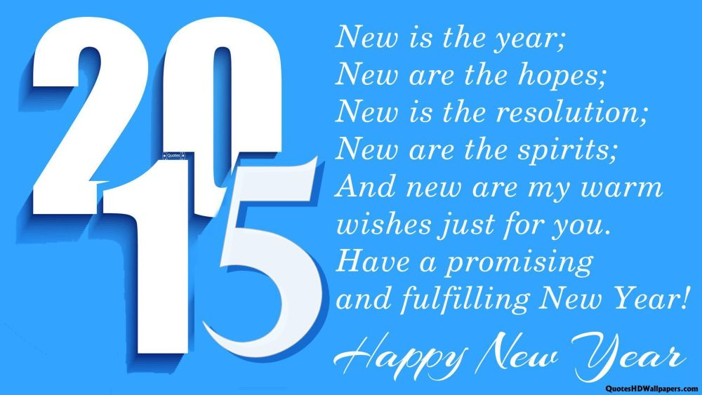 Happy New Year 2015 (1/2)