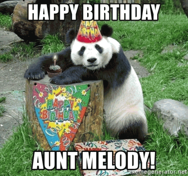 20+ Funny Happy Birthday Aunt Meme Images - Preet Kamal