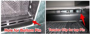 Prefab Door Pins