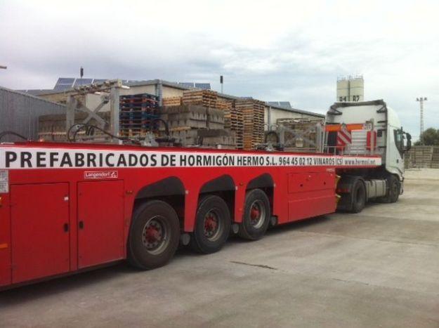 Transporte de HERMO S.L cuyas características no son válidas para el uso de este procedimiento
