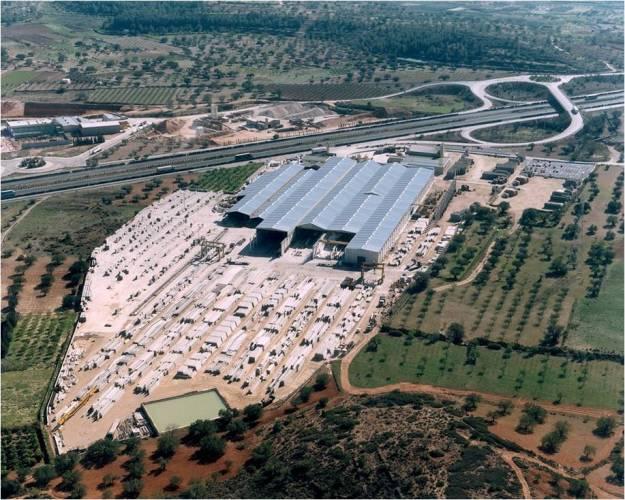 Planta de prefabricados de hormigón. Lugar para hacer una auditoria de organizacion
