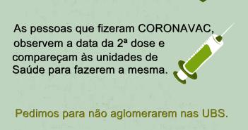 Informativo Vacina Coronavac