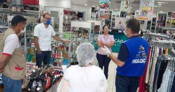 Secretaria de Saúde de Tucumã orienta comerciantes para as medidas de prevenção contra o Coronavírus