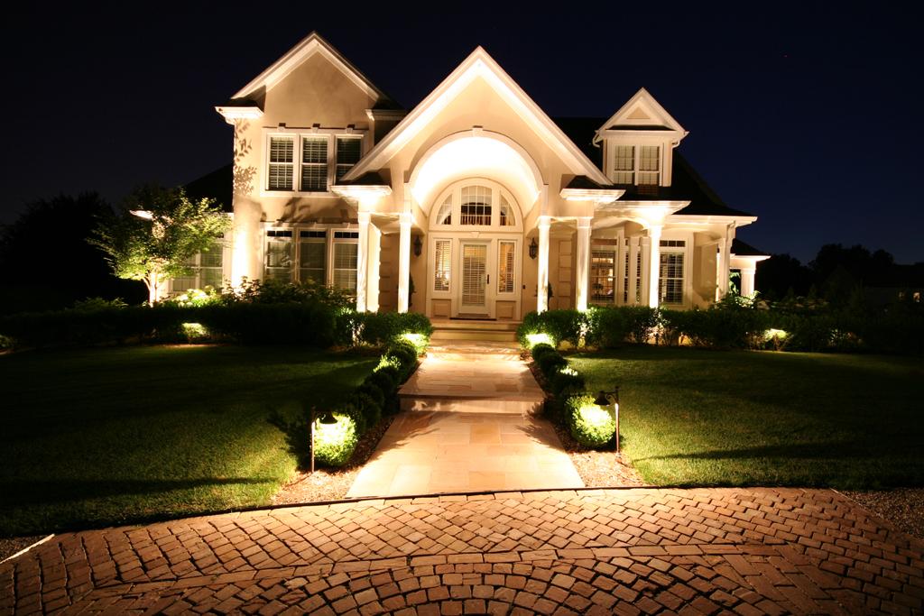 Preferred Properties Landscaping Masonry Outdoor Lighting Landscape Lighting Exterior Lighting