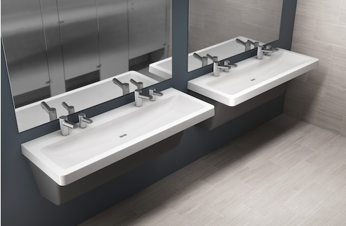 New Product Alert: Introducing Bradley's Exclusive GLX Series and TLX Series Express® Lavatory Decks