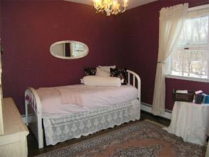 Reston VA bedroom staged