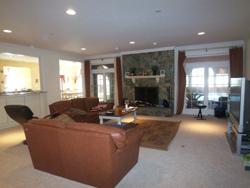 Oakton VA family room before home staging