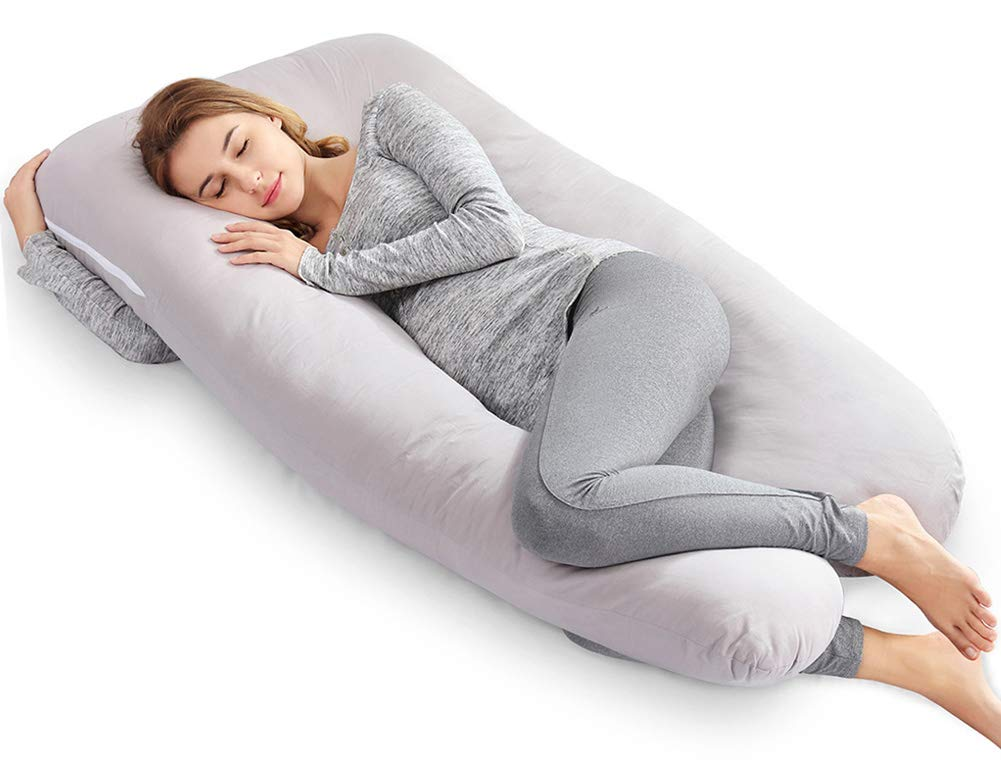 AngQi 55 Inch Full Pregnancy Pillow
