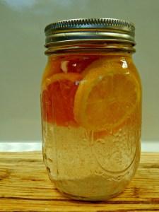 lemon zinger flavoured water, recipe