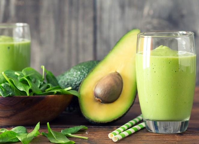 Avocado and Spinach Smoothie
