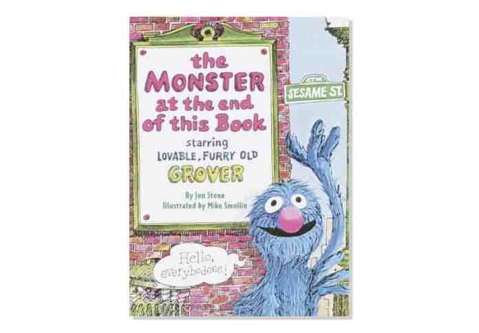 The Monster at the End of This Book board book