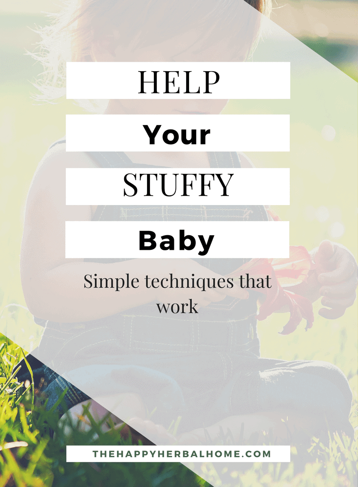 Help Your Stuffy Baby