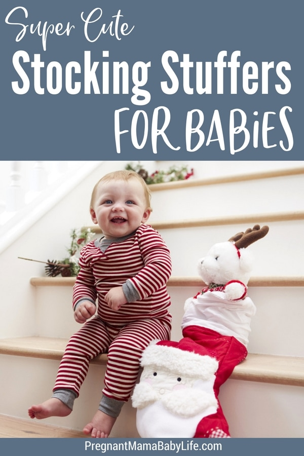The best stocking stuffers for babies and toddlers. Perfect for babies first Christmas.
