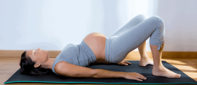 Pelvic floor exercises during pregnancy.