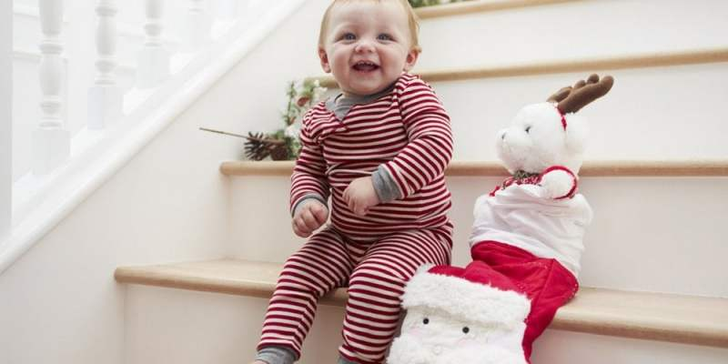 Stocking stuffer ideas for babies and toddlers.