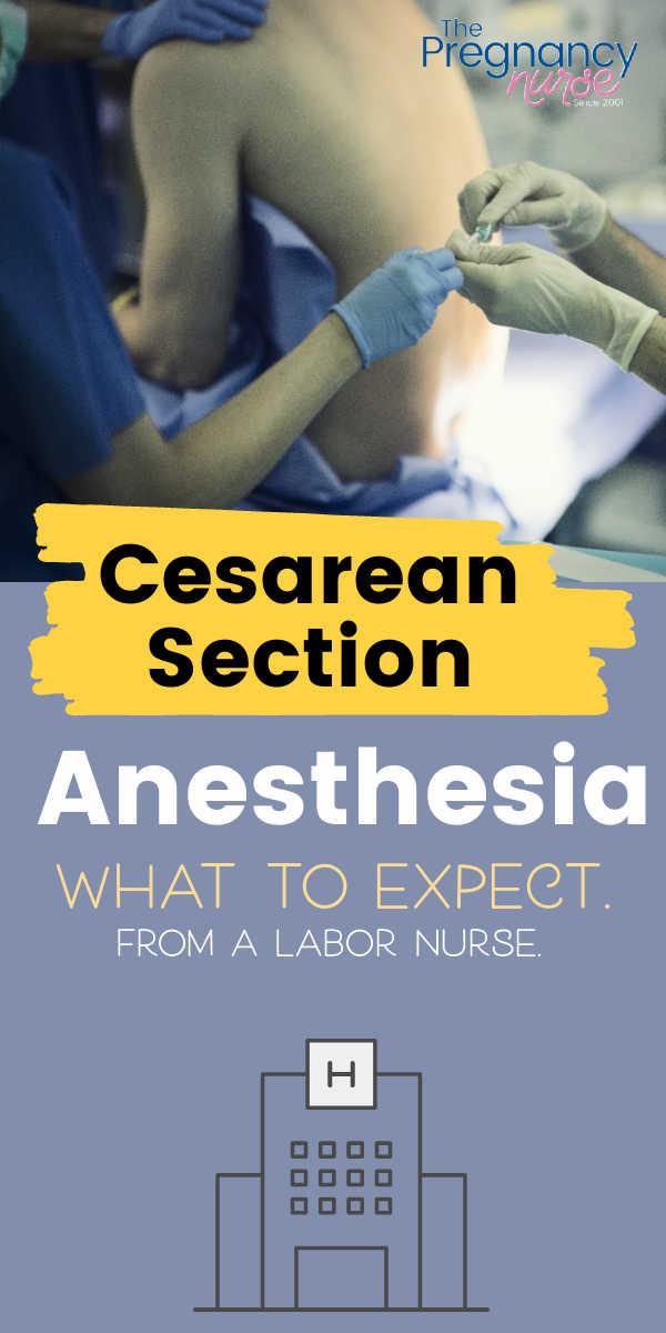Cesarean Section Anesthesia