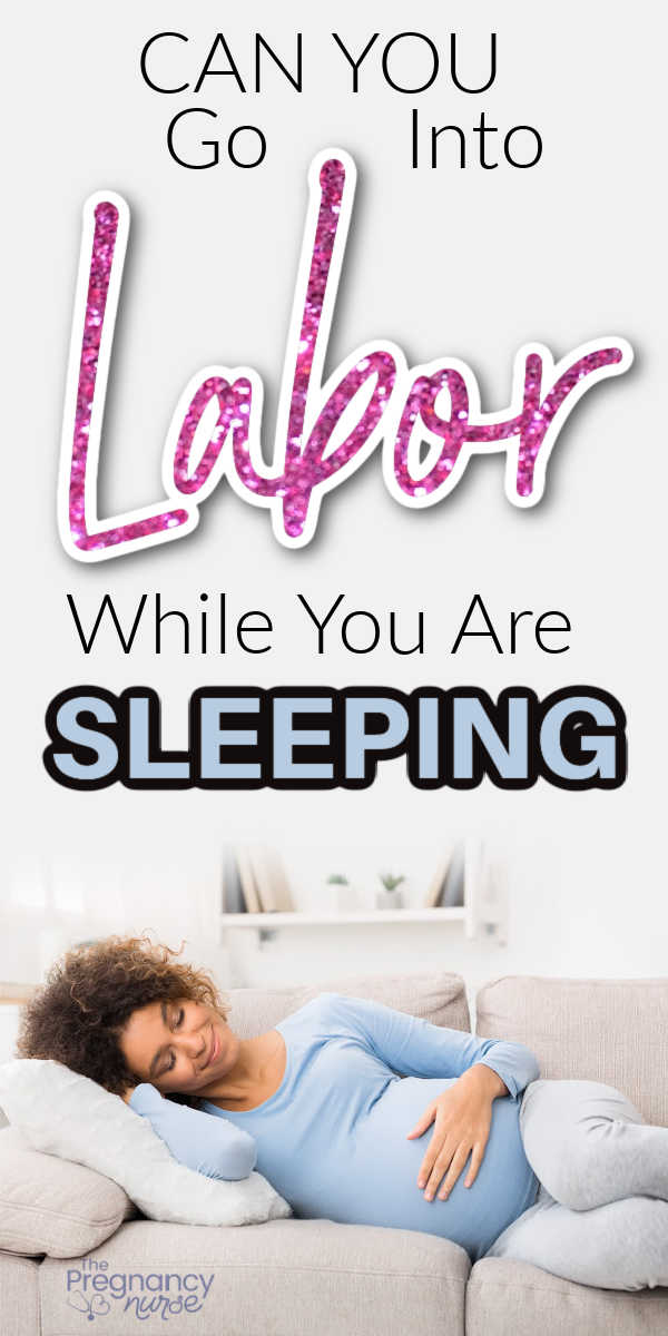 Can labor start while you're sleeping? Can you sleep through early labor? How can you sleep through some of labor. Let's explore those topics.