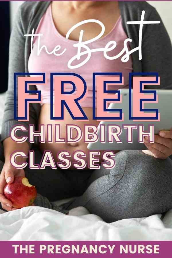 You're interested in a great birth experience, but the budget is tight. How can you find a free childbirth class that will help expectant parents create a birth plan that works for them. Today I'm going to share where to find free classes, and what you need to consider about them.