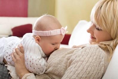 mamá y su bebé