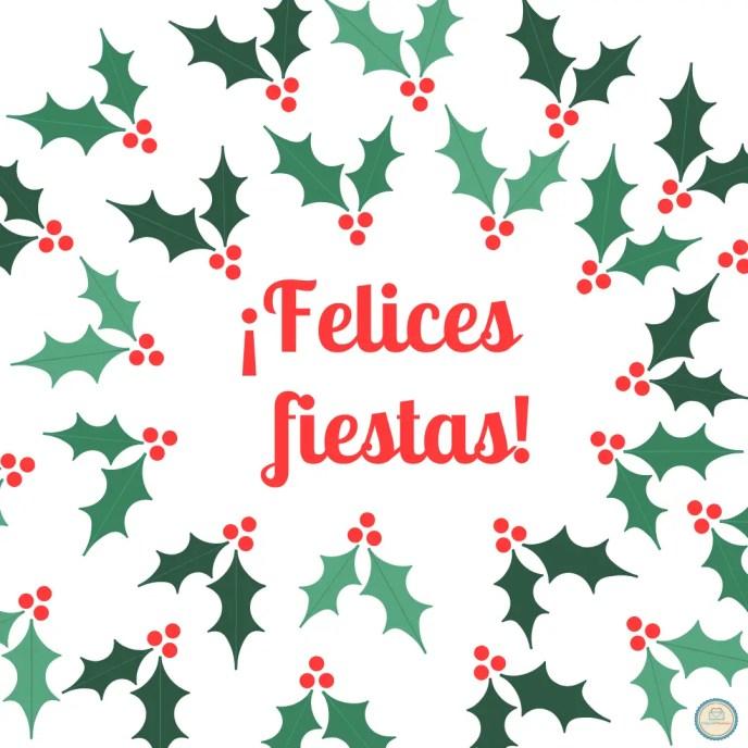 Instagram ¡ Felices fiestas !