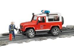 Land Rover Defender Station Wagon Feuerwehr-Einsatz