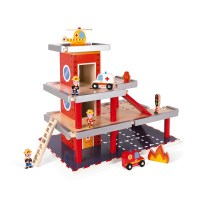 Feuerwehrstation (Holz)