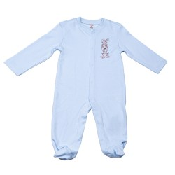Baby Overall Strampler in blau