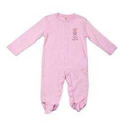 Baby Overall Strampler in rosa