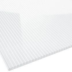 Stegplatte PREMIUM Polycarbonat 16 mm 980 mm breit glasklar