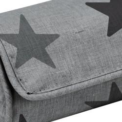 Dooky Arm Cushion - Babyschalentragepolster / Graue Sterne