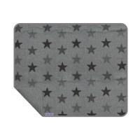Dooky Blanket - Decke / einlagig / Graue Sterne