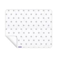 Dooky Blanket - Decke / einlagig / Silberne Sterne