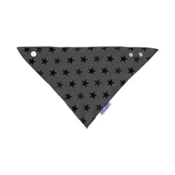 Dooky Dribble Bib - Lätzchen / Graue Sterne