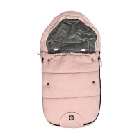 Dooky Footmuff SMALL - Fußsack / Strick / Rosa Sterne / klein