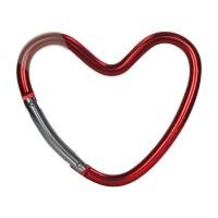 Dooky Heart Hook - Kinderwagenhaken für Taschen / herzförmig / Rot...